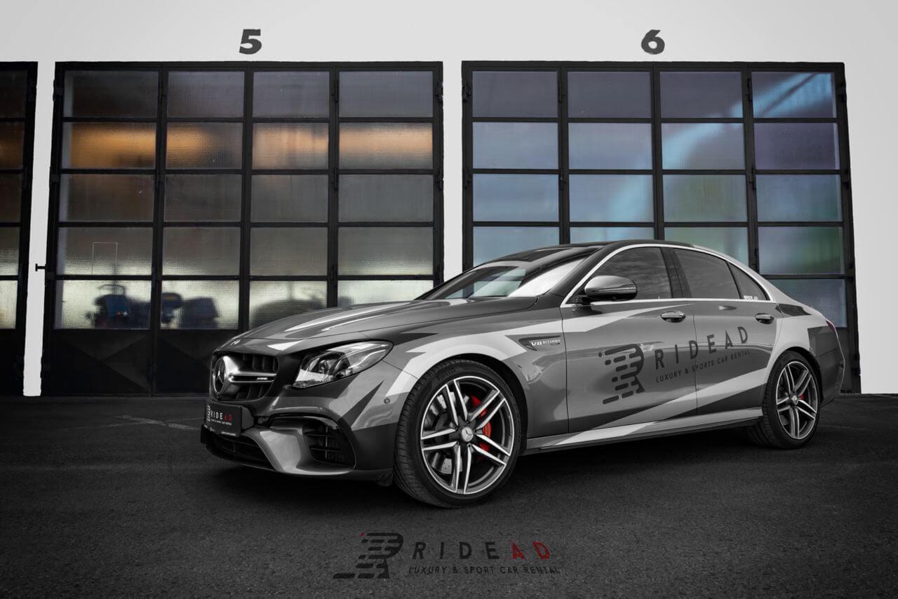 Ride Ad Luxury & Sports Car Rental - Mercedes-Benz E63 s AMG Kurzzeitmiete