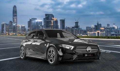 Ride Ad Luxury & Sports Car Rental Mercedes Benz A 180d Langzeitmiete