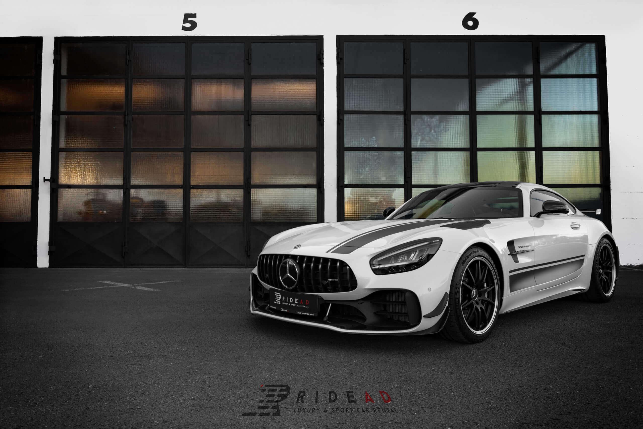 Ride Ad Luxury and Sports Car Rental - Mercedes-Benz AMG GTR PRO Kurzzeitmiete 1