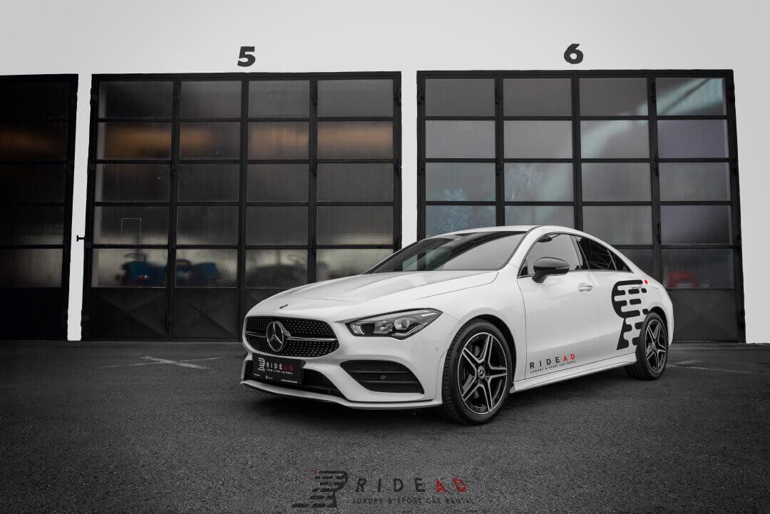 Ride Ad Luxury and Sports Car Rental Mercedes Benz CLA Kurzzeitmiete 1