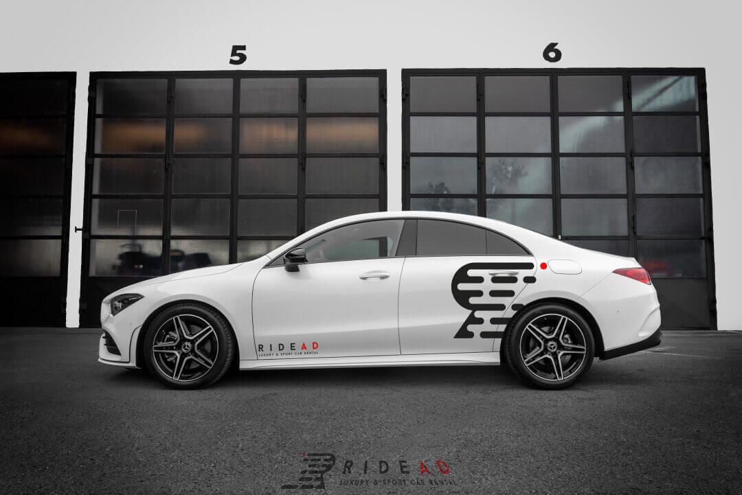 Ride Ad Luxury and Sports Car Rental - Mercedes-Benz CLA Kurzzeitmiete 2