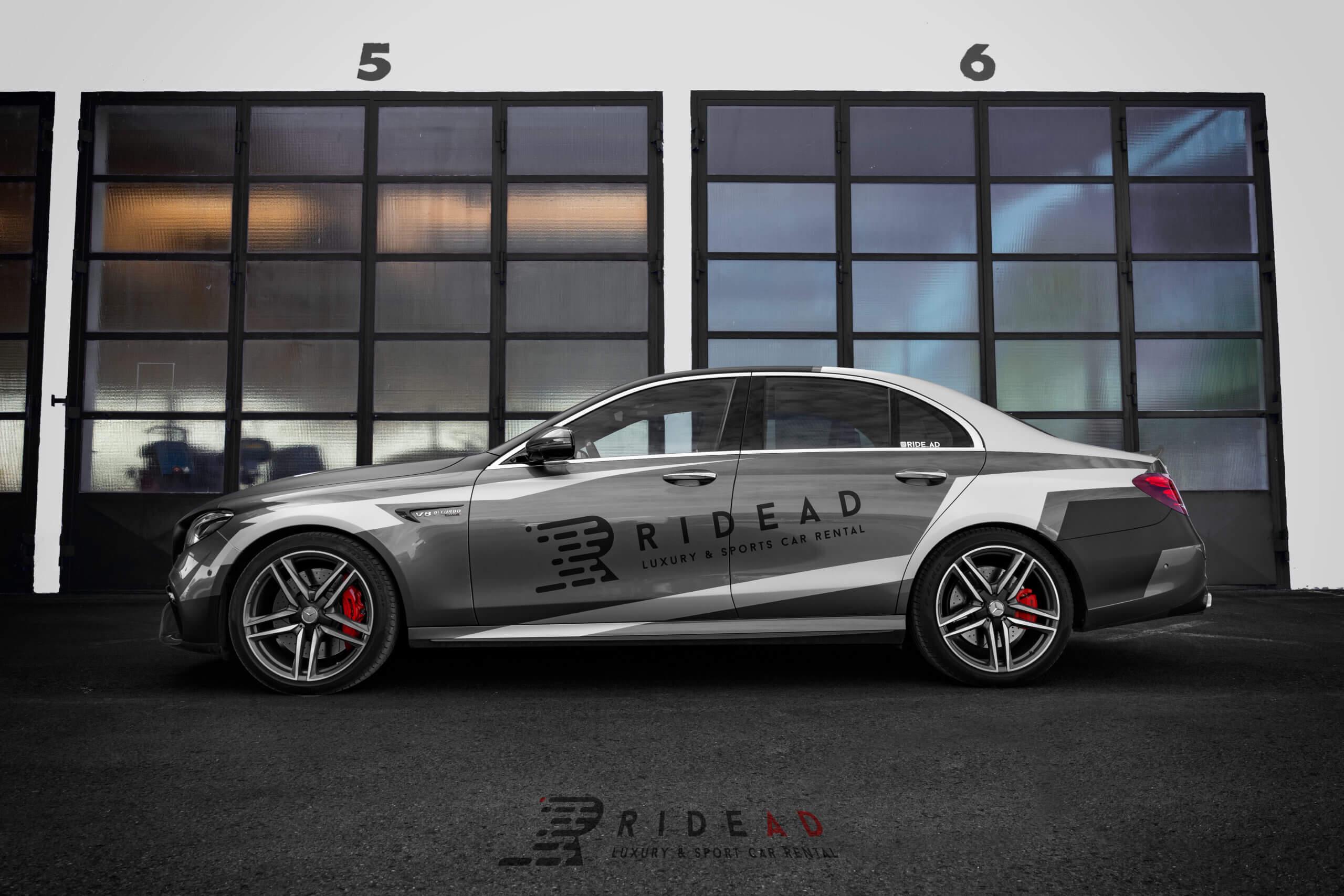 Ride Ad Luxury and Sports Car Rental - Mercedes-Benz E63 s AMG Kurzzeitmiete 1