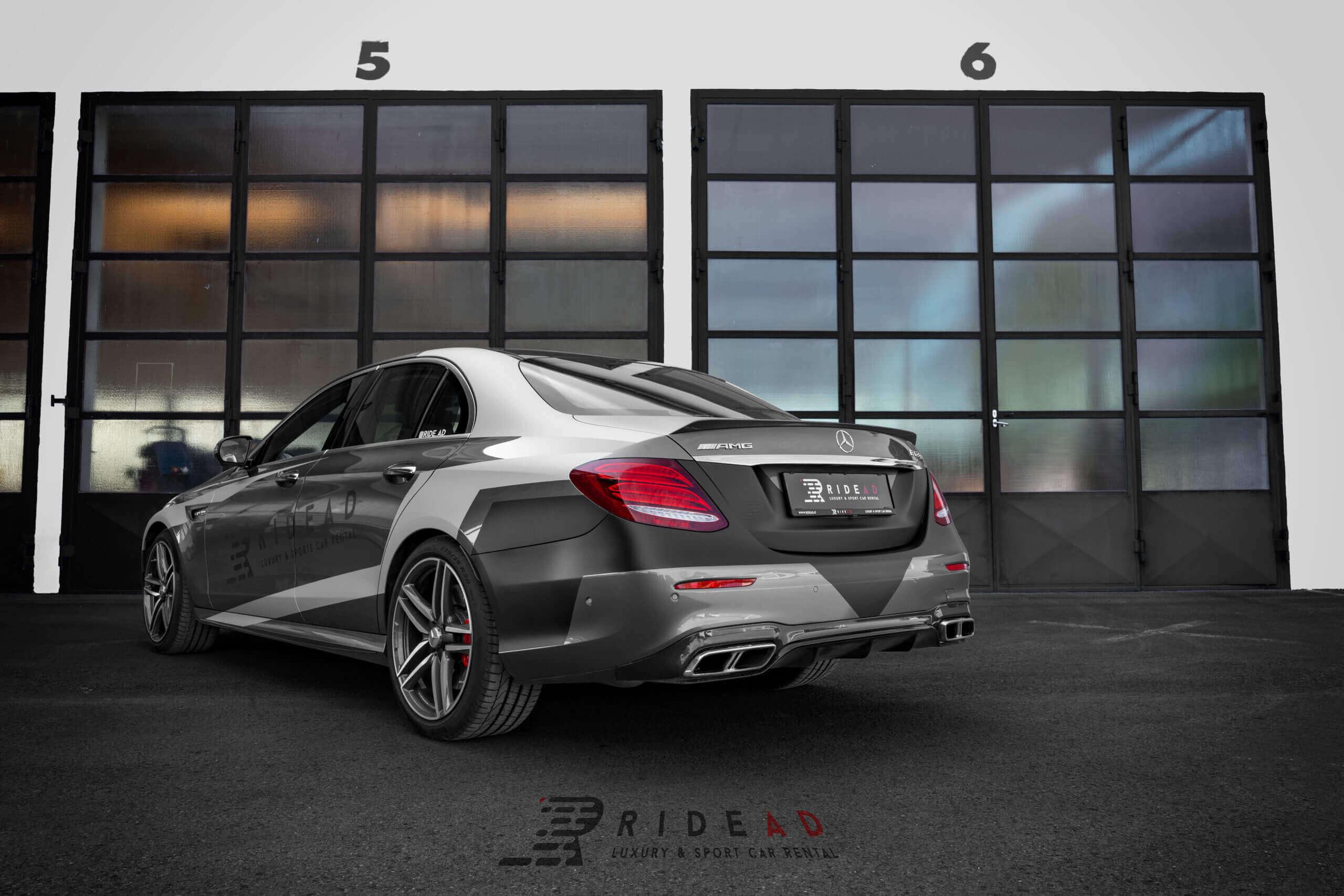 Ride Ad Luxury and Sports Car Rental - Mercedes-Benz E63 s AMG Kurzzeitmiete 2